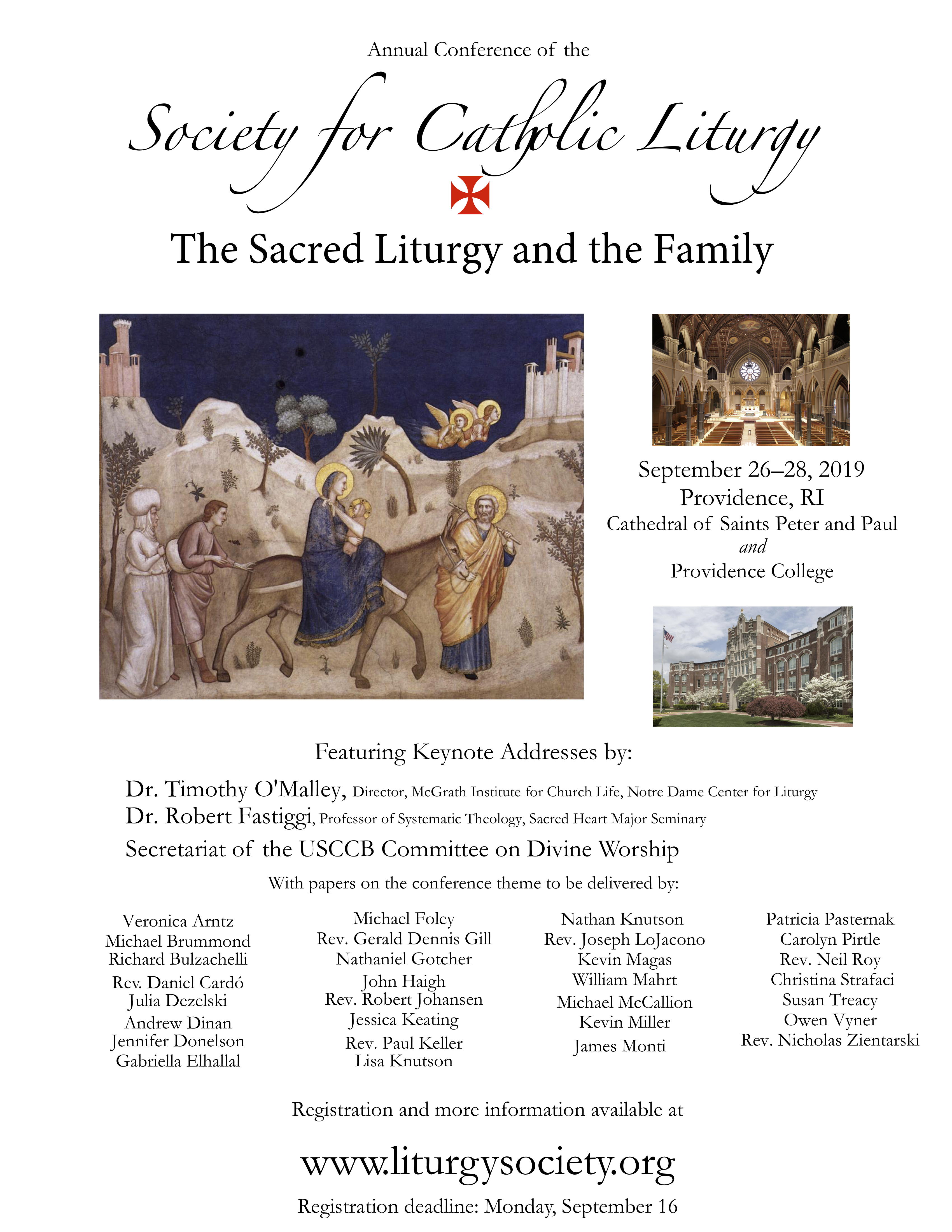 Annual Conference | Society for Catholic Liturgy